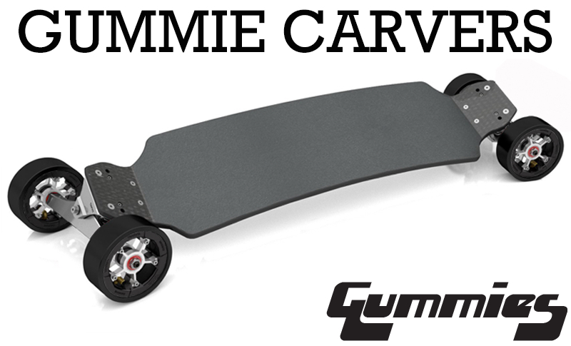 TRAMPA's GUMMIES Carveboard IS INSANE! High speed mega carving carving has never been more thrilling! A revolution has started on the street!!
