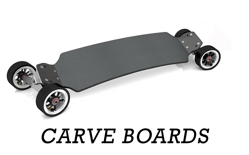 TRAMPA's Range of Carveboards will blow you away - Fully interconnectable with the most advanced steering system ever produced the board has more performance than what you can shake a stick at!