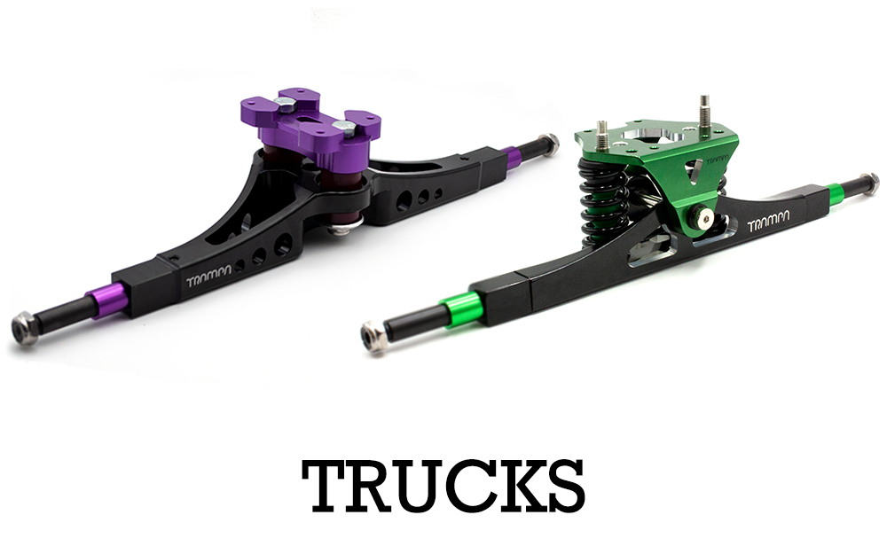TRAMPA Trucks come in many variities