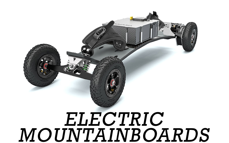 Single or Twin Engine Electric powered Mountainboards will revolutionize your ride up, down & across across every terrain you can imagine!