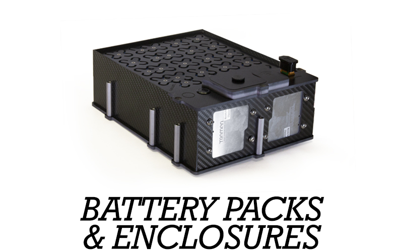 Battery Packs & perfectly shaped VESC Enclosed Boxes with built in BMS to fit your Batteries on a TRAMPA Deck & many other applications