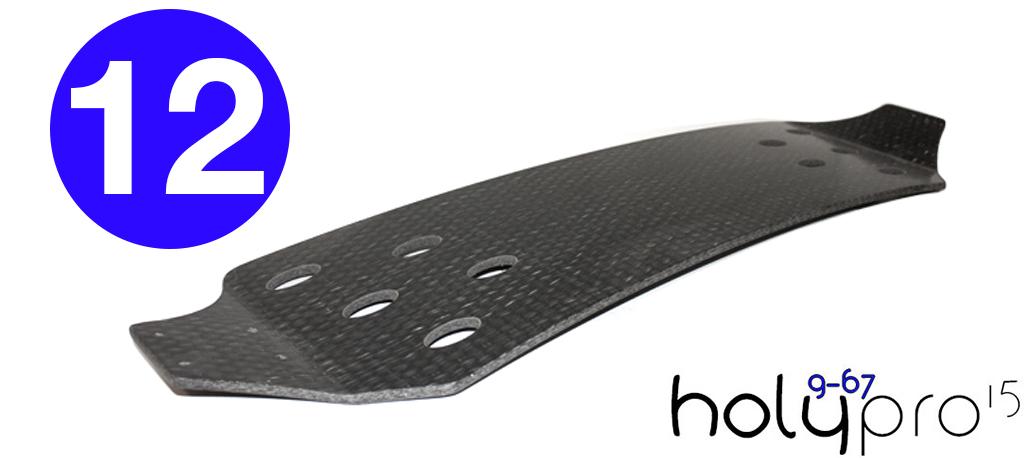 12ply 15° HolyPro Blank Deck