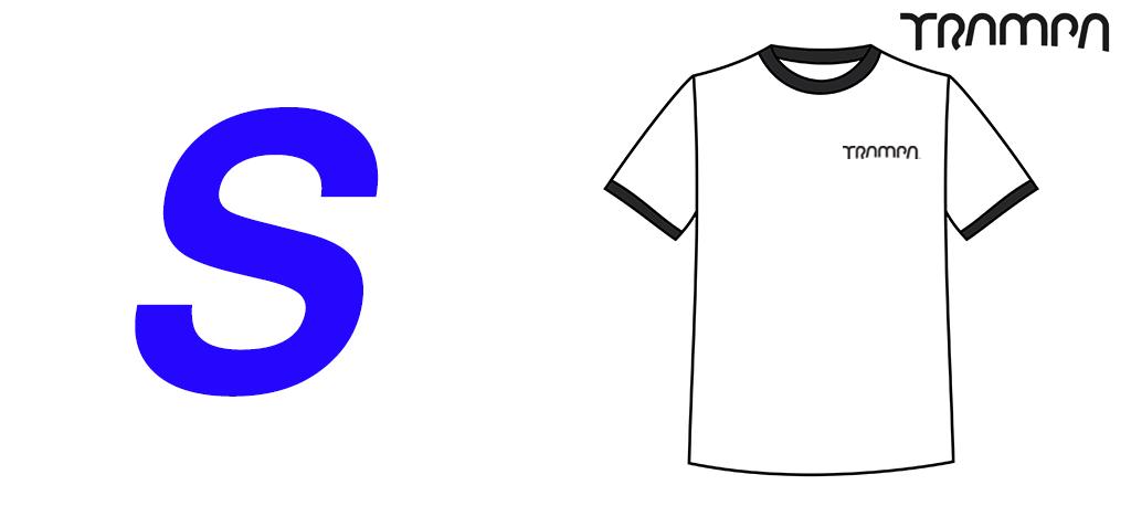 FOTL White Black Ringer T Shirt -  Small
