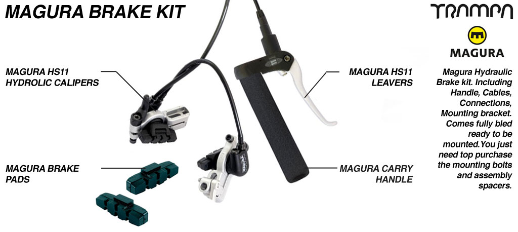 Magura Brake Calipers & Cables