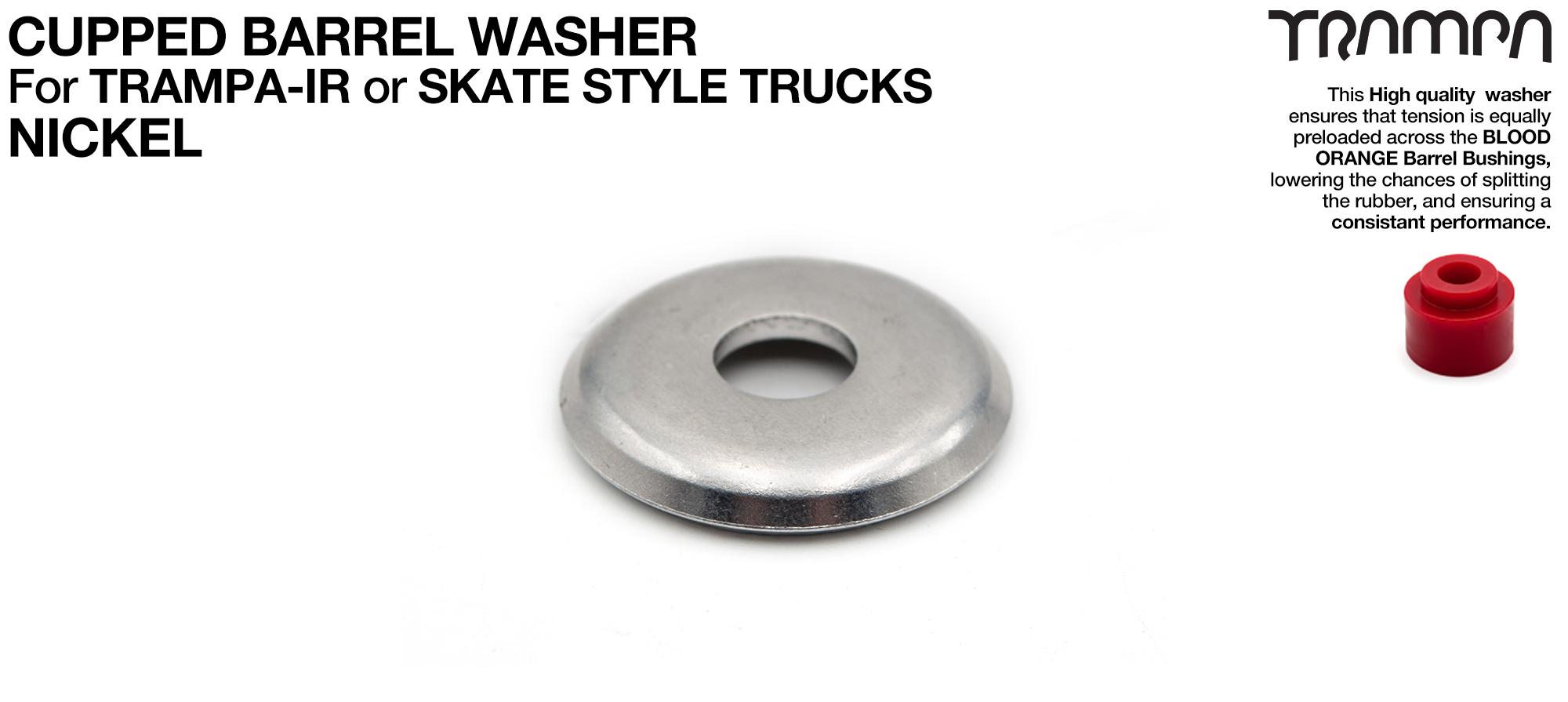 Washer for skate truck Kingpin -  Oversize