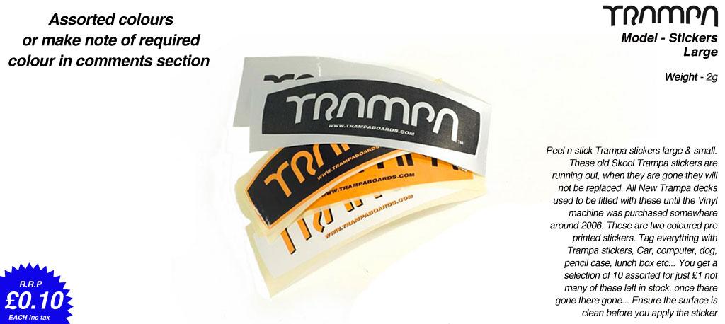 Asst Old Skool Trampa Stickes - Large