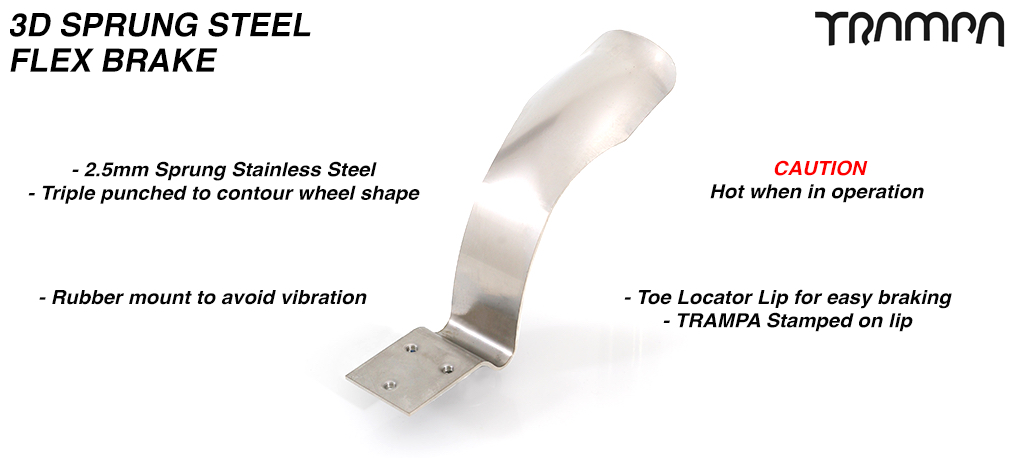 3D Sprung Steel Brake fender - The ultimate brake fender!