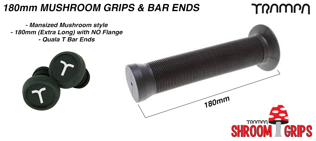 Mansize Mushrooms Grips & Bar Ends