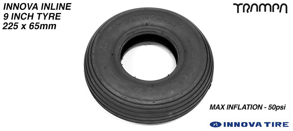 INNOVA INLINE - 9 Inch  Straight cut Street tyre