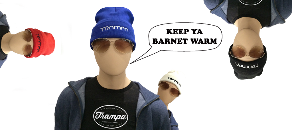 WOOLIE HATS with Thick turn up to keep you warm!