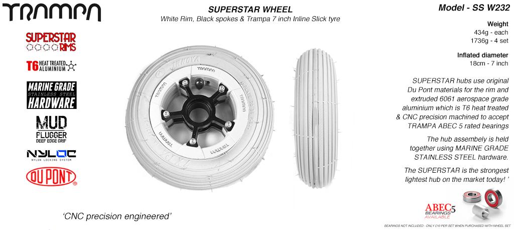 bearings,spokes 50mm rotor hub, use 12mm axle 10 inch Front Disc Rim w//Hub