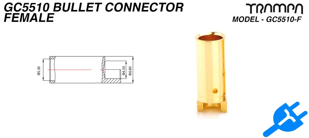 5.5mm Plug - Female