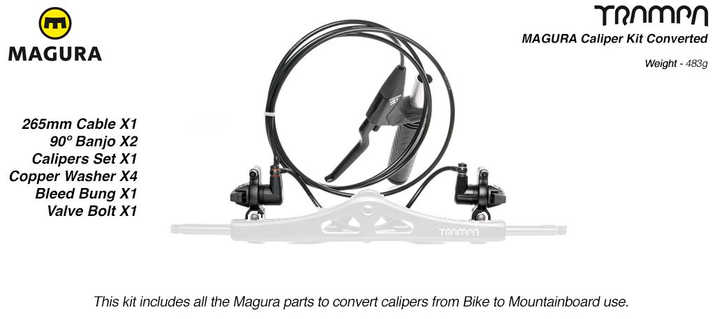 MAGURA Caliper Kit fully Converted