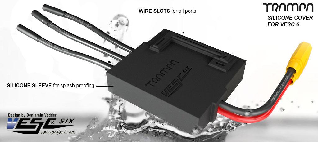 VESC 6+ External Splash proof Silicone Seal for CNC Heat sink Box