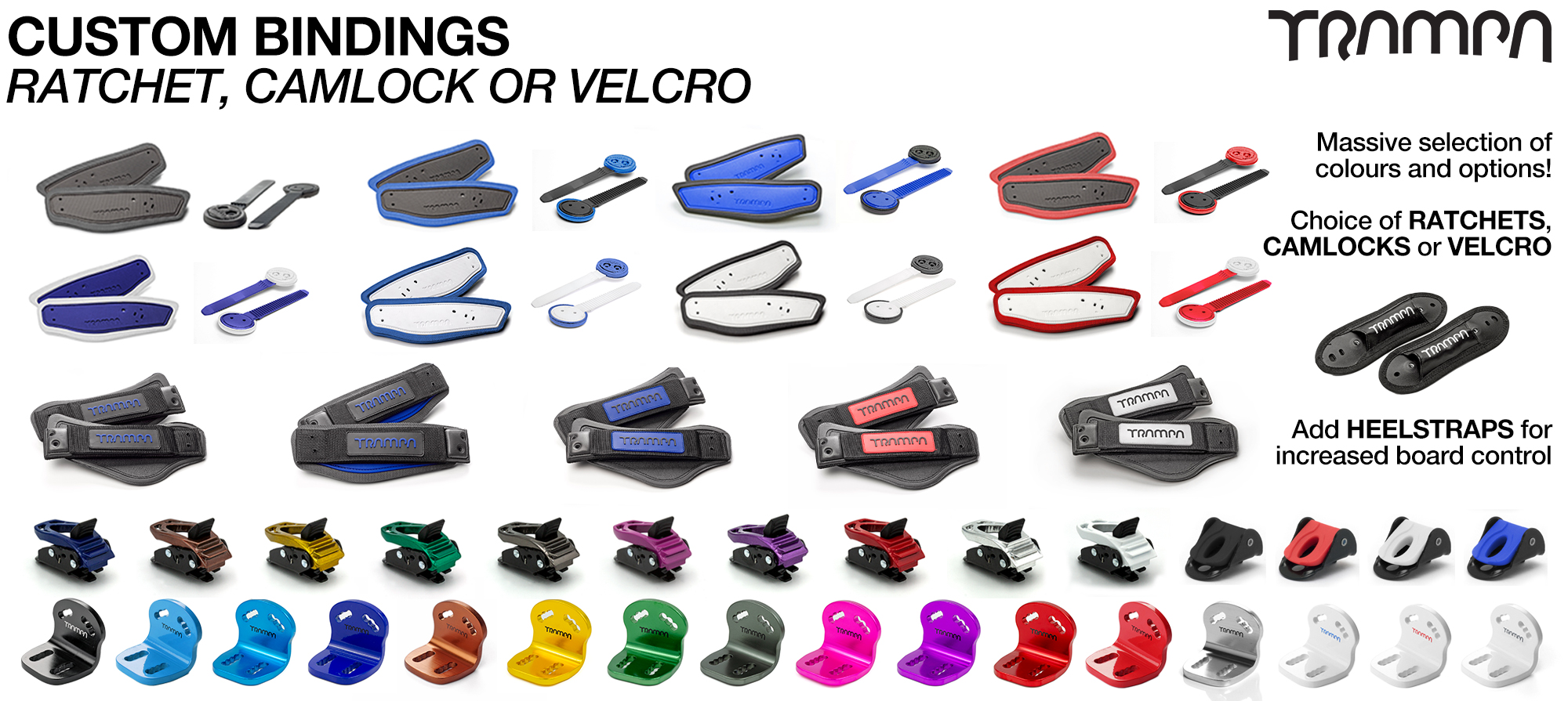 CUSTOM BINDINGS - Build your own Bindings & colour combo!
