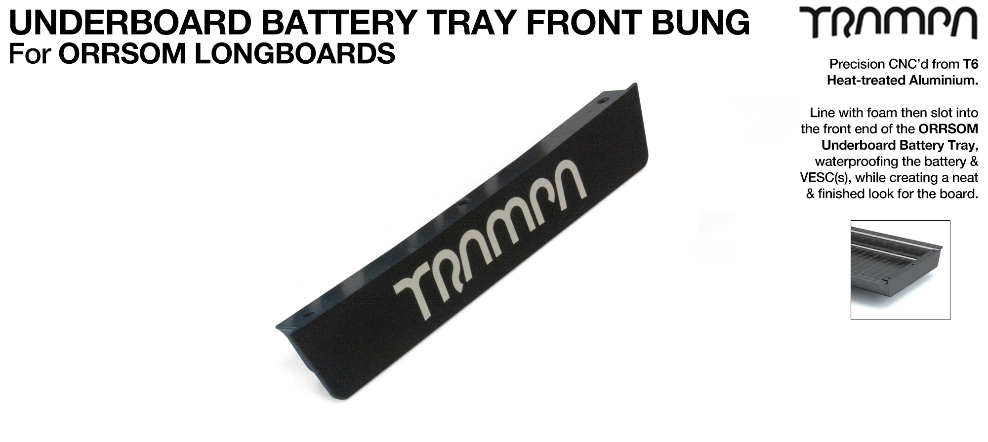 Underboard Battery Tray Frontend T6 Bung