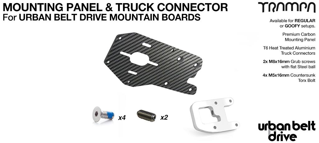 URBAN MOUNTAINBOARD Motormount Connector & Panel - SINGLE