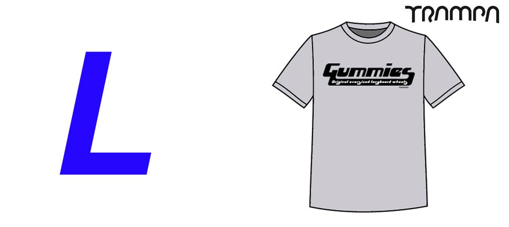 FOTL GUMMIES Marl Grey Heavy Cotton Tshirt - Large