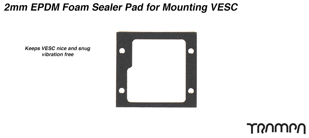 2mm EPDM Foam Sealer Pad for Mounting VESC