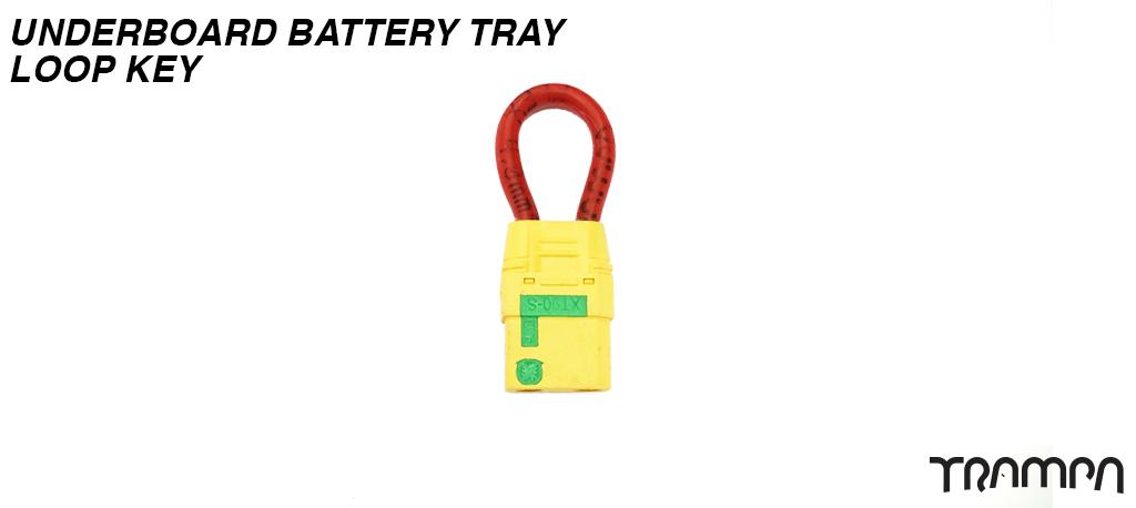 Underboard Battery Tray Loop Key
