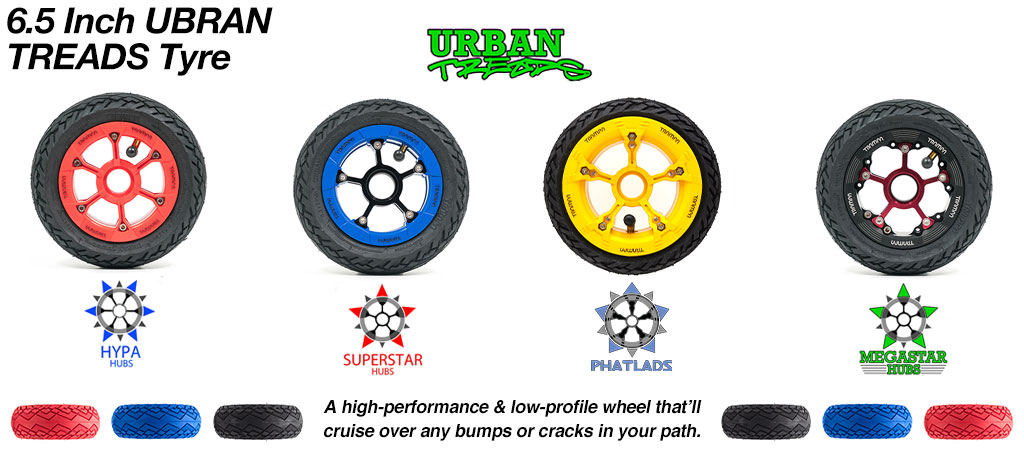 Build your own Custom 6 Inch TRAMPA Wheel!!  HYPA SUPERSTAR or MEGASTAR Wheel