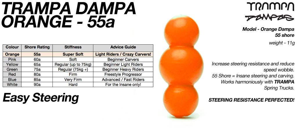ORANGE TRAMPA DAMPA - 55a Shore