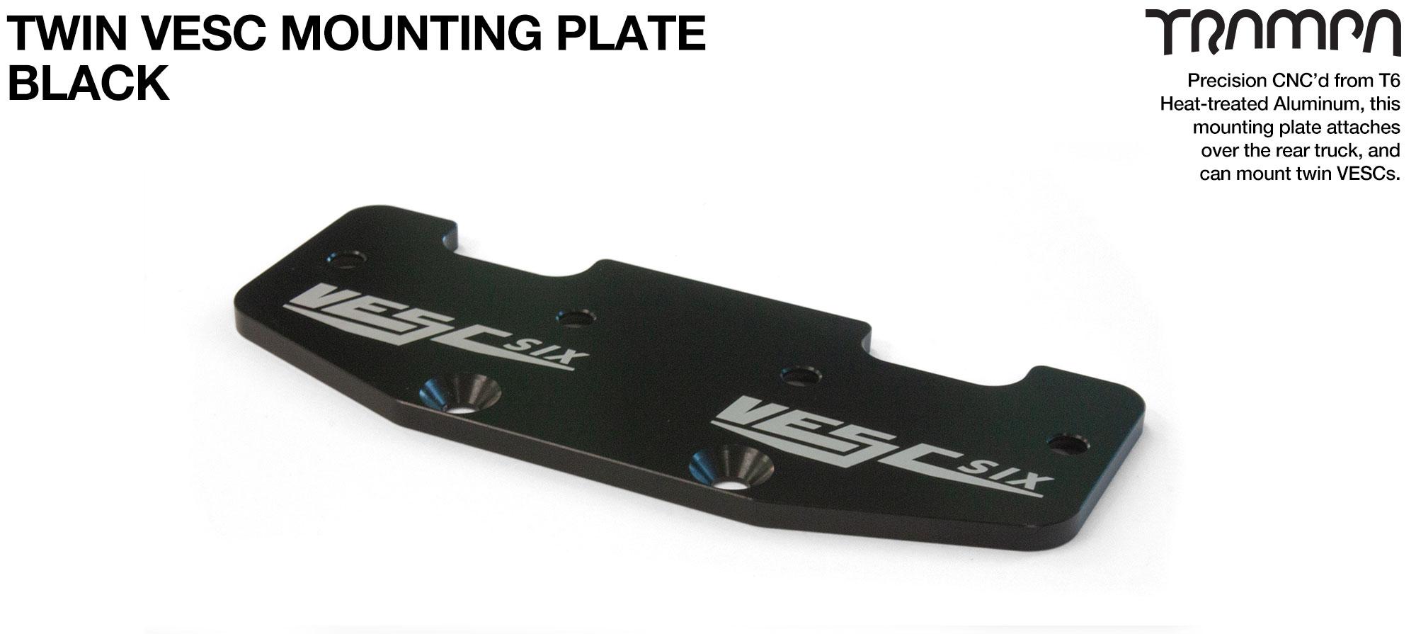ALUMINIUM mounting Plate for TWIN VESC