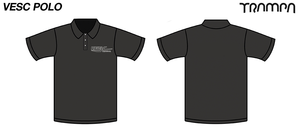 FOTL Polo Shirt VESC Black