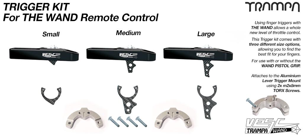 Trigger kit for WAND Pistol grip