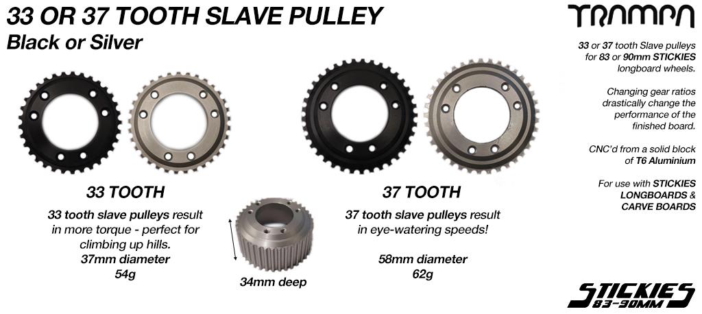 Slave Wheel for TRAMPA 83mm & 90mm Longboard Wheels