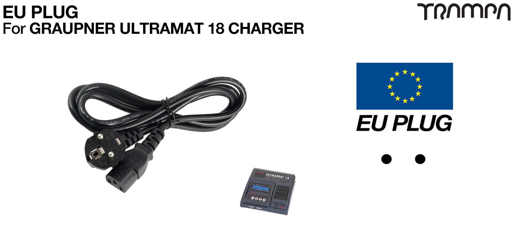 EURO Plug for Graupner charger