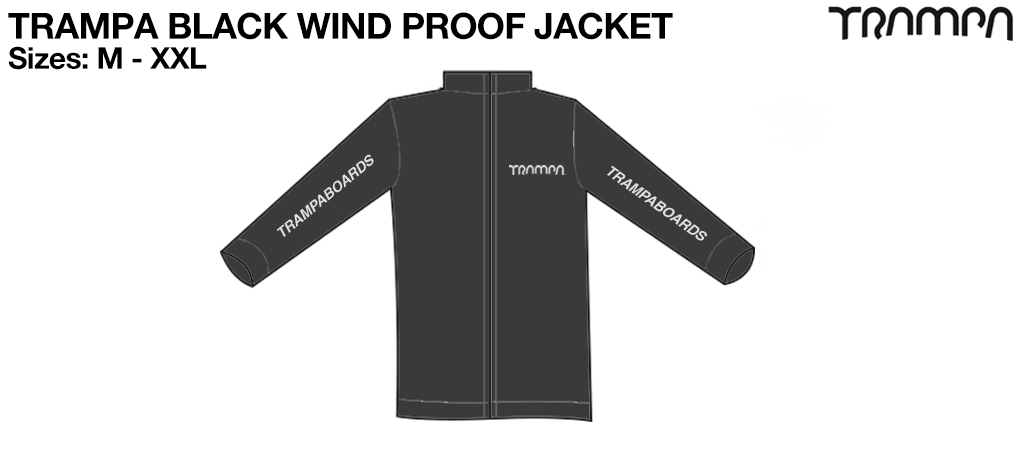 TRAMPA BLACK Wind Proof Jacket
