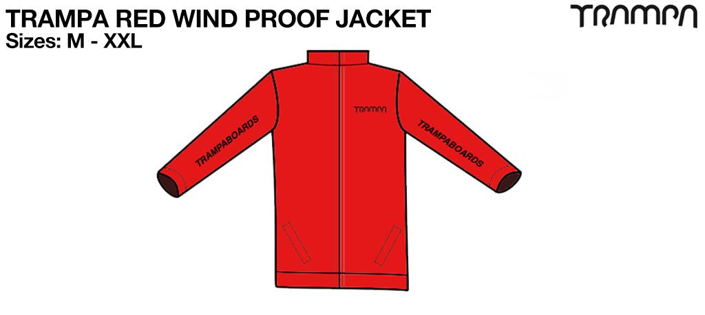 TRAMPA RED Wind Proof Jacket
