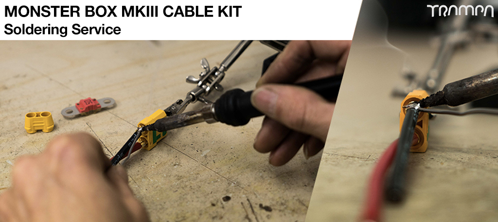 MkIII Monster Box Cable kit Soldering charge