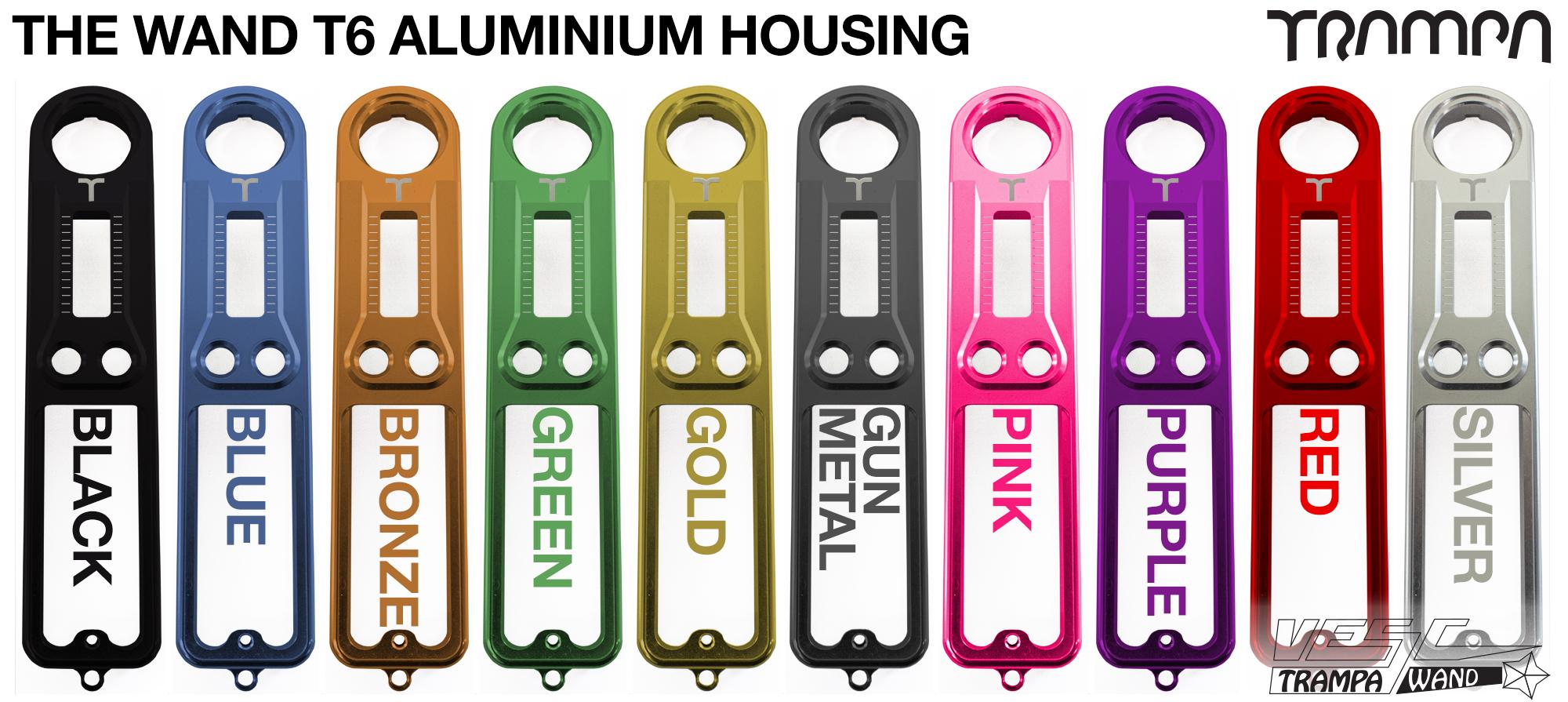 WAND T6 Aluminium  Housing - Custom Anodised Colour