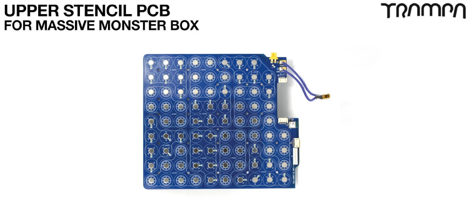 21700 UPPER PCB For TRAMPA's Massive MONSTER Box