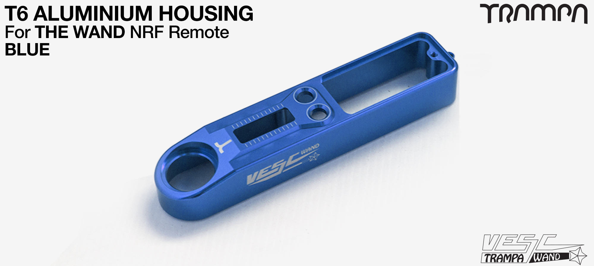 WAND T6 Aluminium  Housing - BLUE Anodised
