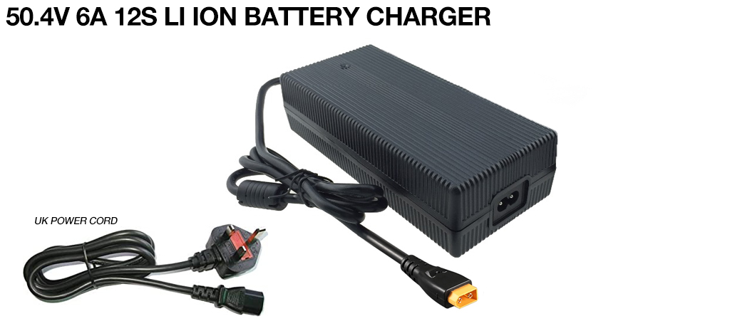 50.4 6A 12S LI ION BATTERY CHARGER