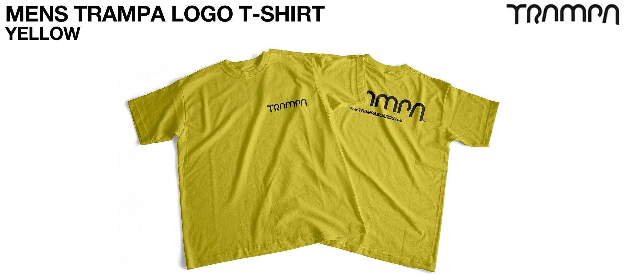 Gildan T  TRAMPA LOGO Yellow - CUSTOM (COPY)