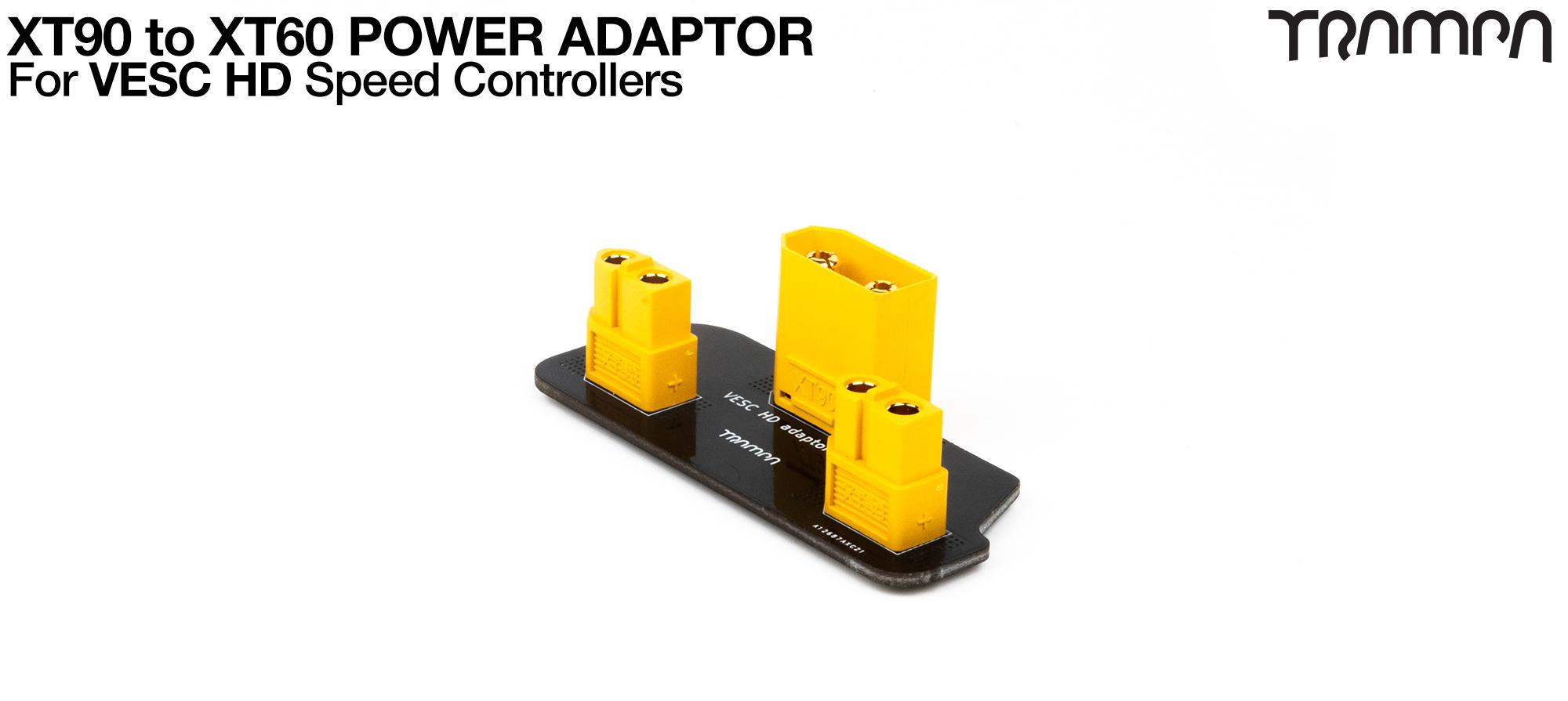 VESC HD XT90 to XT60 Power Adaptor