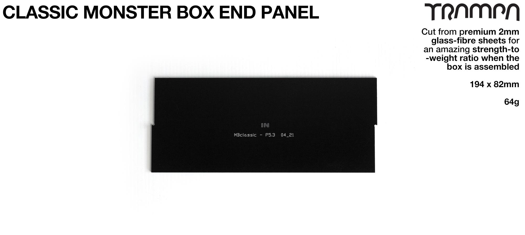CLASSIC Monster Box MkIV 1x NO VESC Panel
