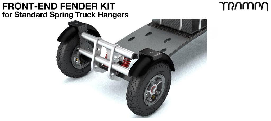 FRONT Fender Kit for 8 Inch Wheel boards - ORIGINAL hanger