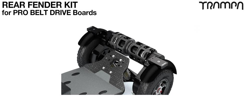 REAR Fender Kit for 9 Inch Wheel boards - PRO BELT DRIVE