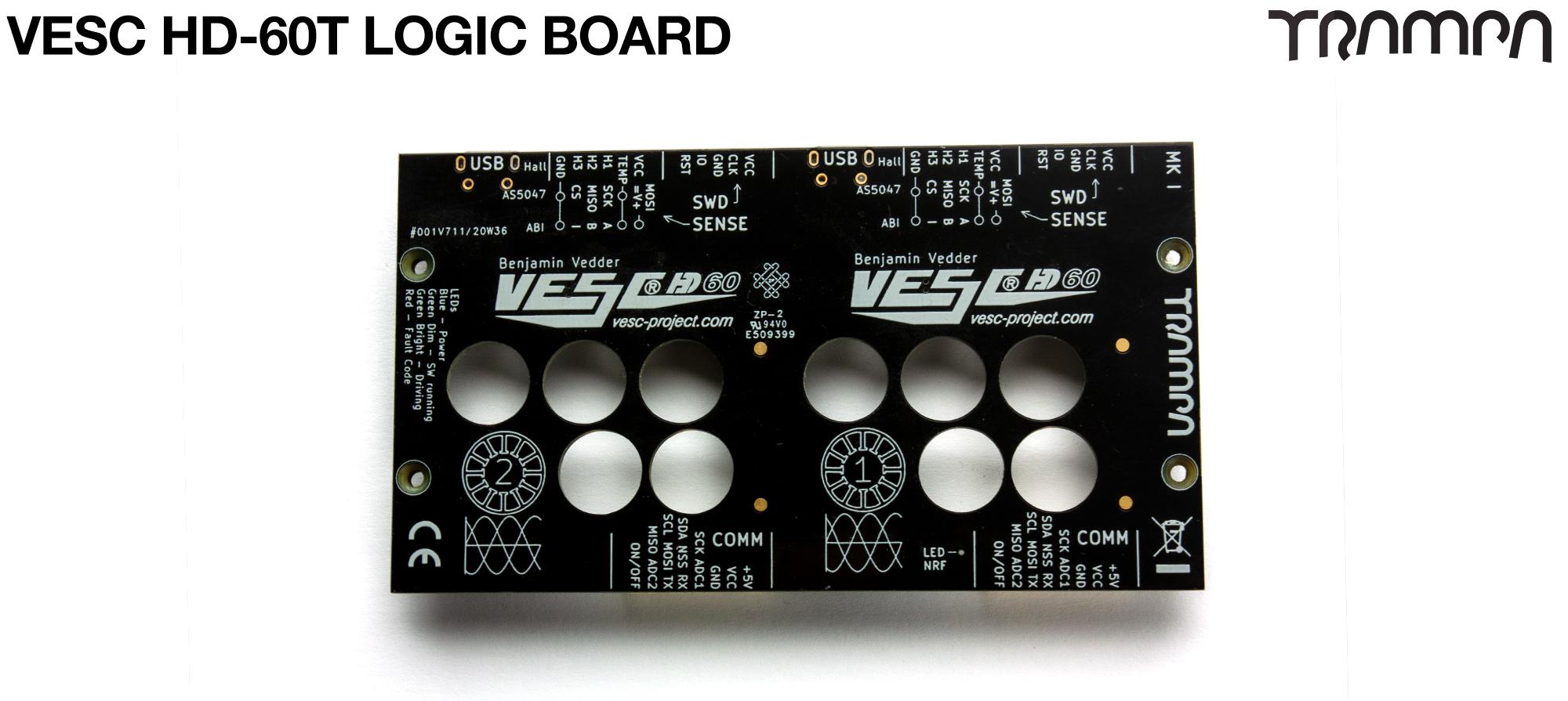VESC HD-60T - PCB Logic