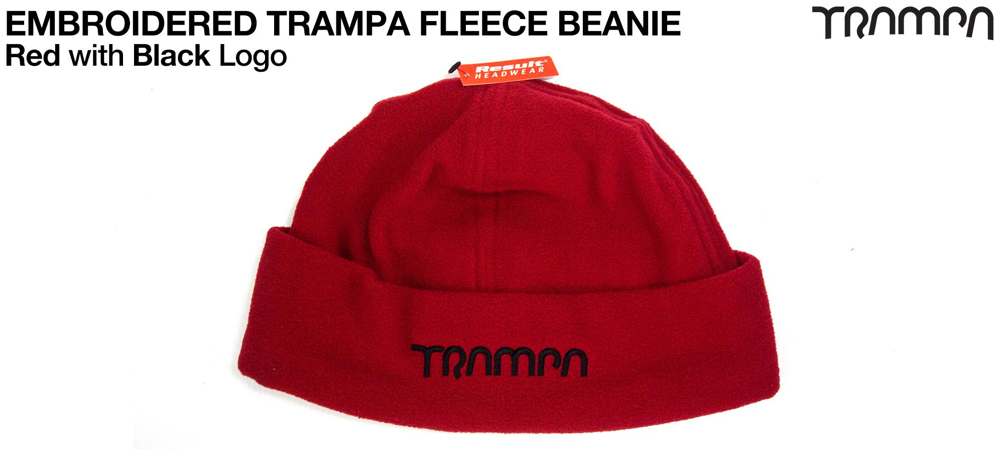 Fleece Winter Hat - Red