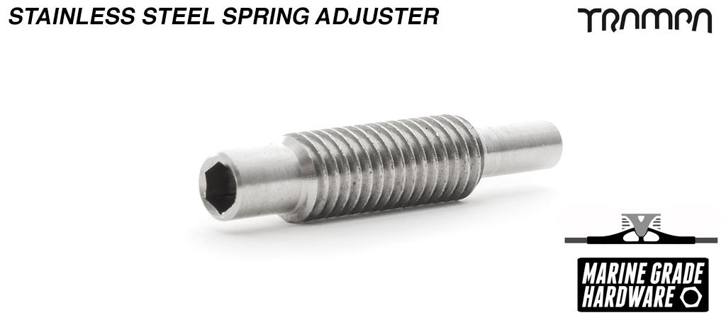 Spring Adjuster - Marine Grade Stainless Steel
