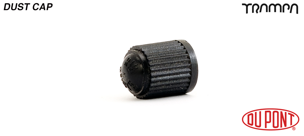 Black Plastic Anti Dust Valve Cap