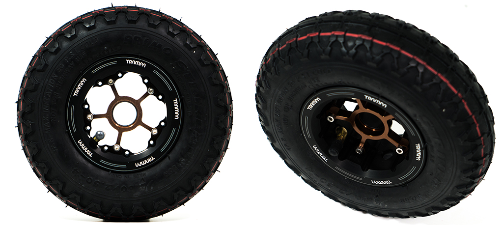 9 inch MEGASTARS Wheel x2 Special offer for Complete Boards
