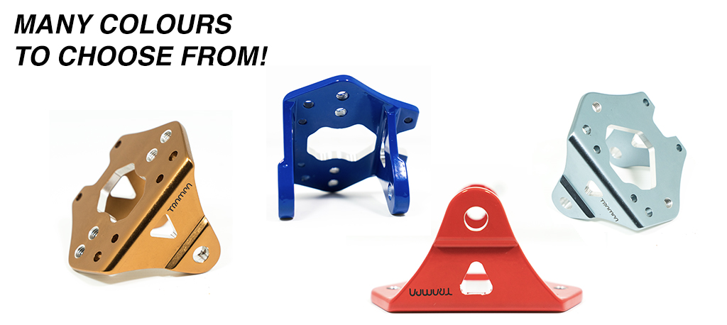 CUSTOM Spring Truck Baseplate - Extruded T6 Aluminum Anodised & CNC precision Milled
