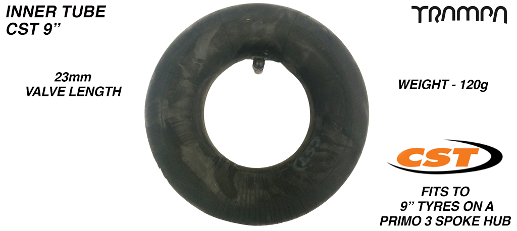 9 Inch Regular Inner Tube made by PRIMO - 225x65mm